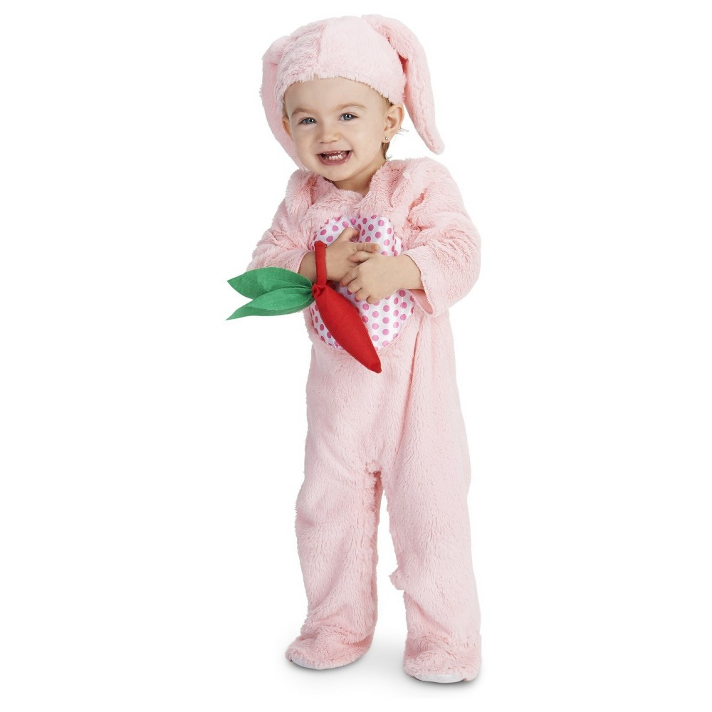 Little Bunny Baby Costume - 12-18 Months, Infant Girls, Size: 12-18 M, Pink