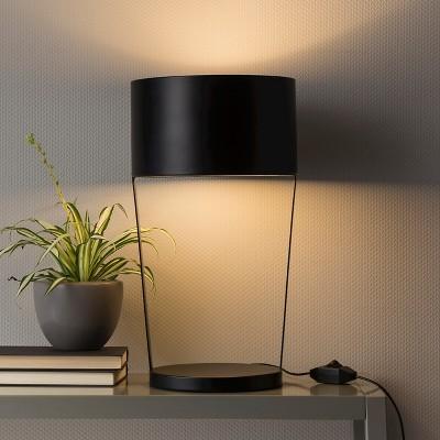 led table lamp black modern by dwell magazine - Modern Table Lamp
