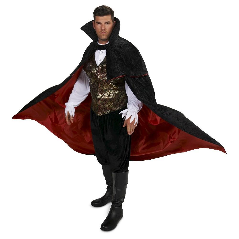 Plus Size Eerie Vampire Men's Plus Costume 1X,  Black plus size,  plus size fashion plus size appare