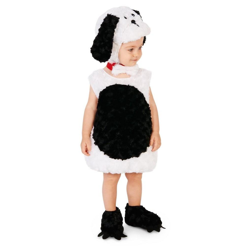 Gentle Puppy Childs Costume S(4-6), Kids Unisex, White