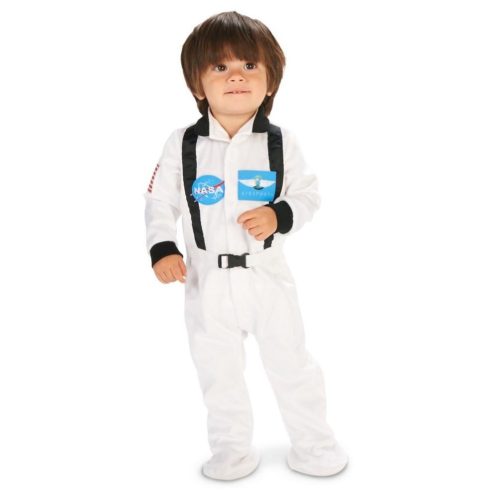 Astronaut Suit Baby Costume 12-18M, Infant Unisex, Size: 12-18 M, White