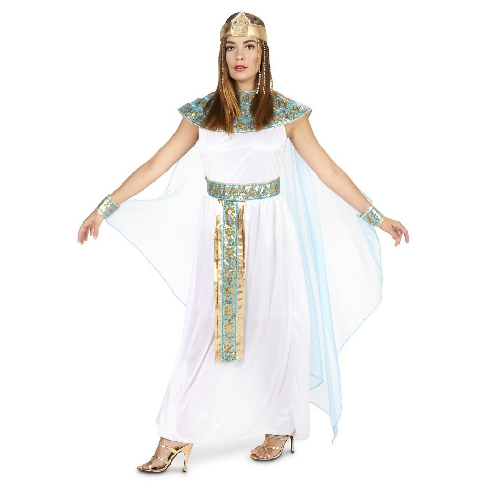Pharaohs Lady Womens Costume - Large, White