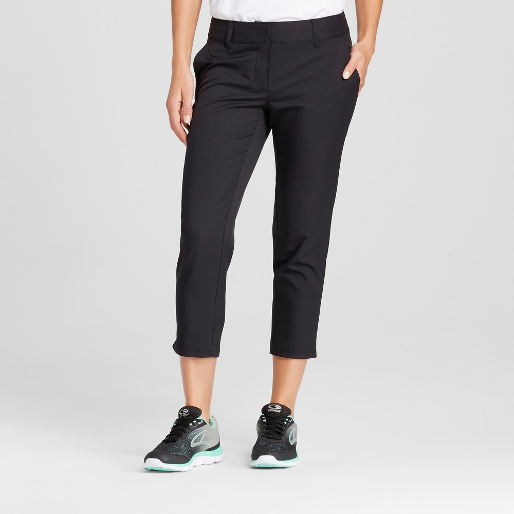 Womens Golf Capri - C9 Champion Black 8
