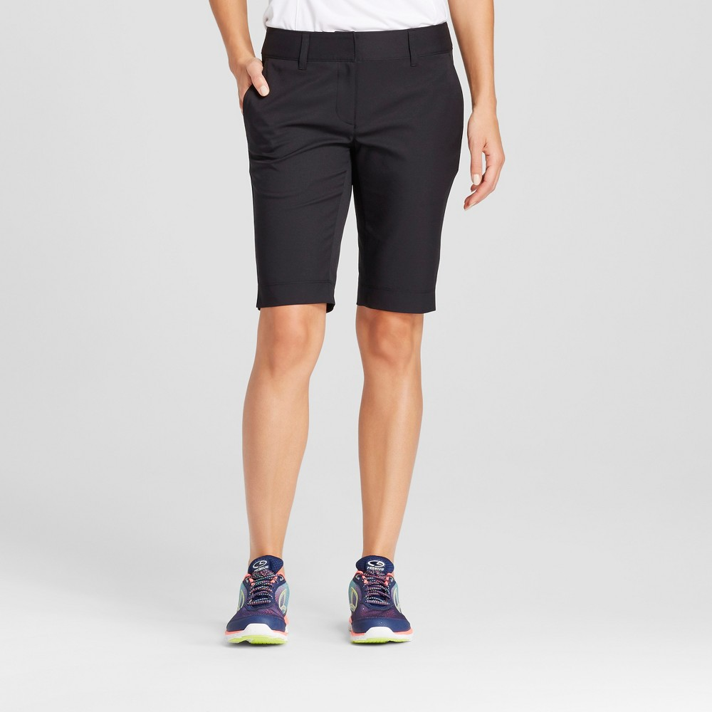 Womens Golf Bermuda Shorts - C9 Champion Black 8