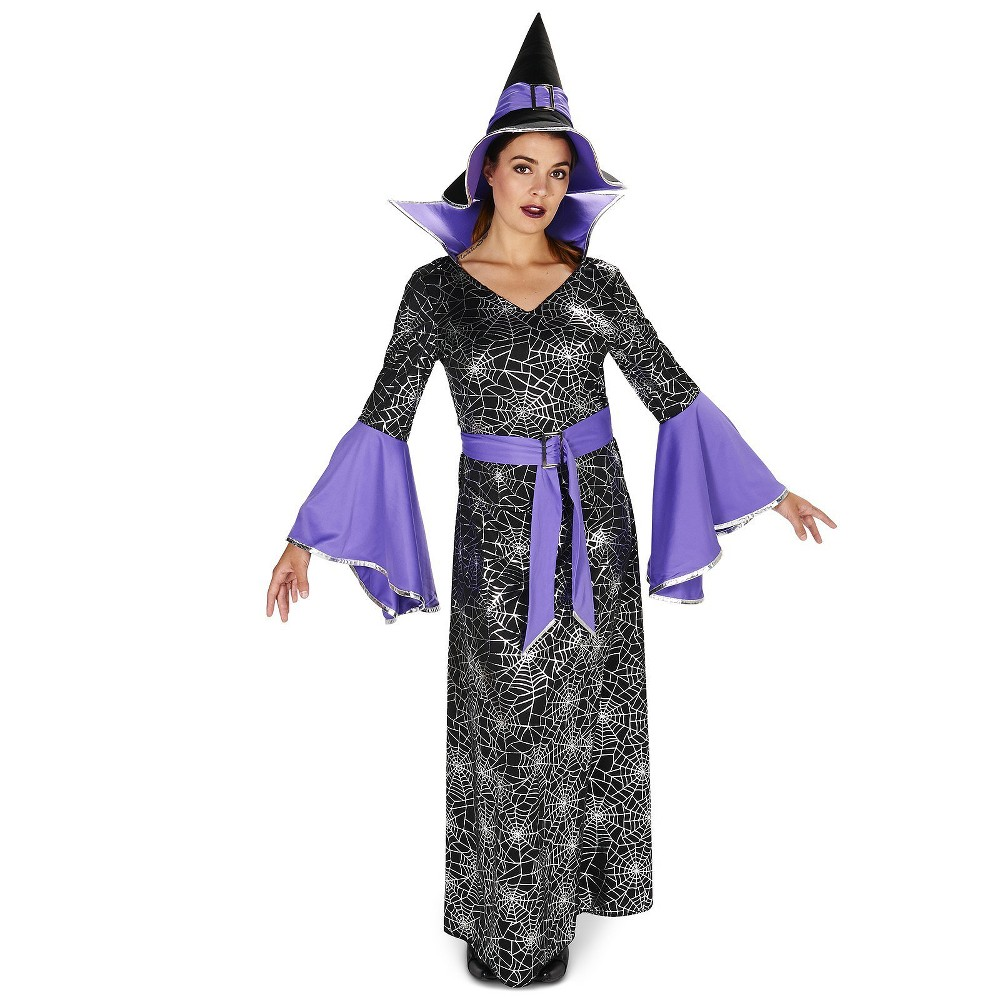 Womens Enchanting Witch Costume Medium, Multicolored