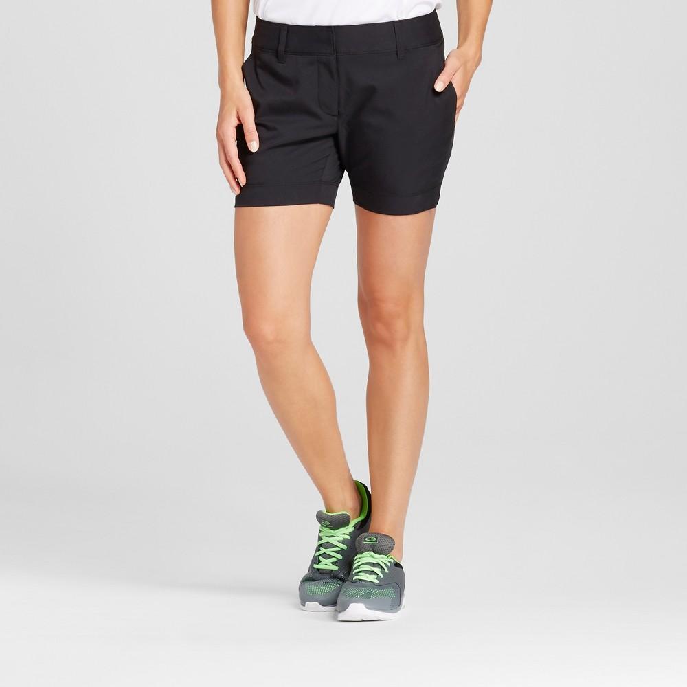 Womens Golf 5 Shorts - C9 Champion Black 16
