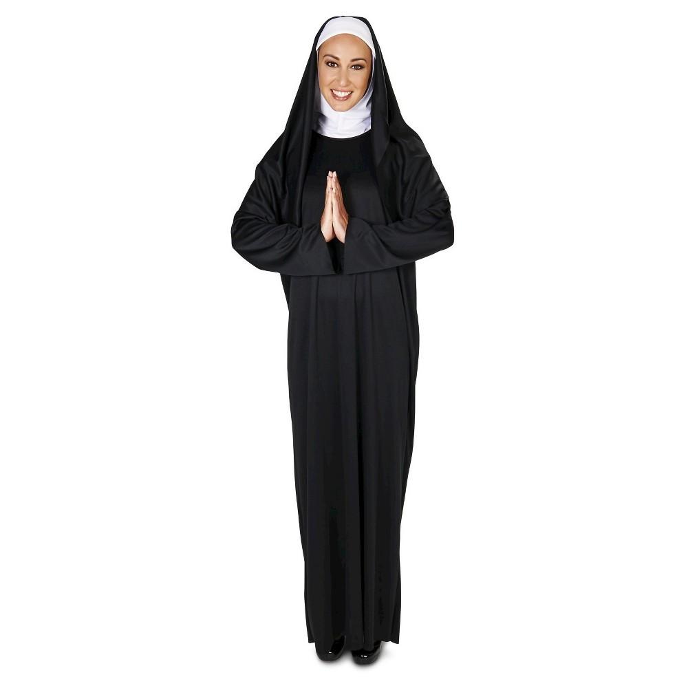 The Nun Womens Costume - Medium, Black