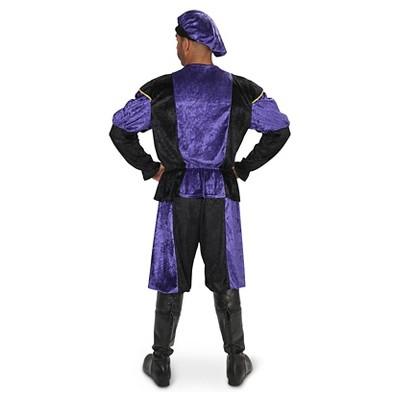 Renaissance Men's Costume Large, Blue