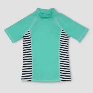 3e5cf7999f Girls' Rashguard - Cat & Jack™ Aqua