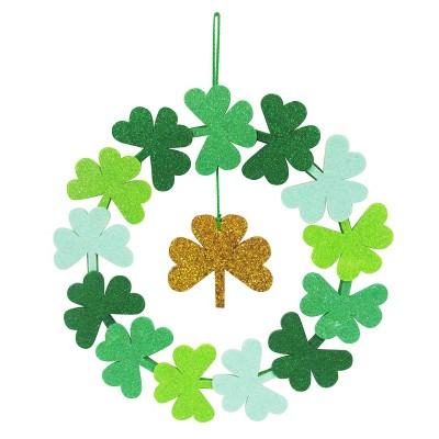 St. Patrick's Day Shamrock Wreath - Spritz™