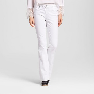 white bootcut jeans : Target