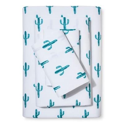 Green Cactus Sheet Set (Twin)Green 3pc - Xhilaration™