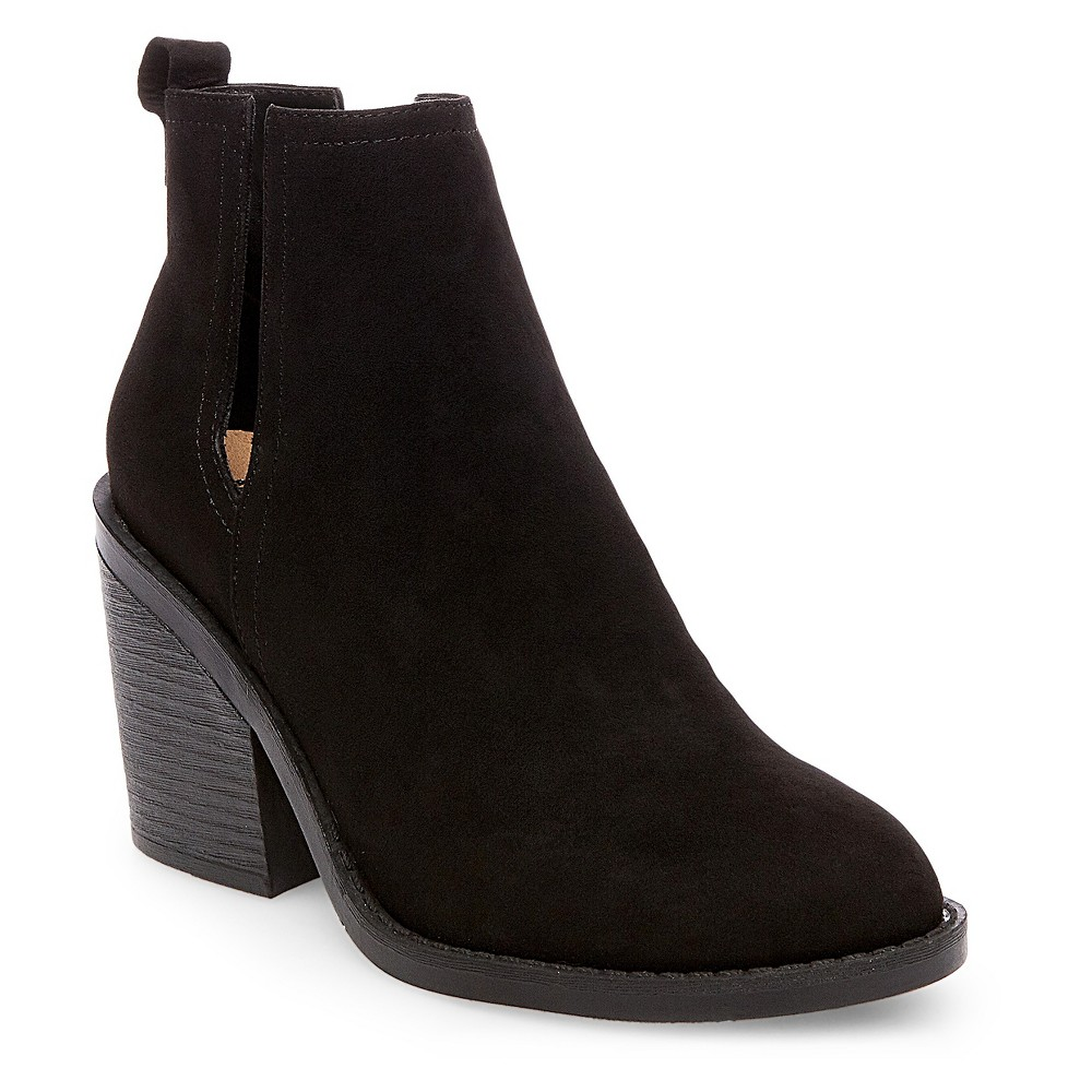 Womens Basil Cut Out Buckle Booties - Mossimo Supply Co. Black 11