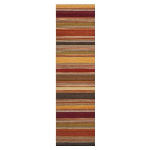 Striped Kilim Rug Gold 7 X7 Square Safavieh Target