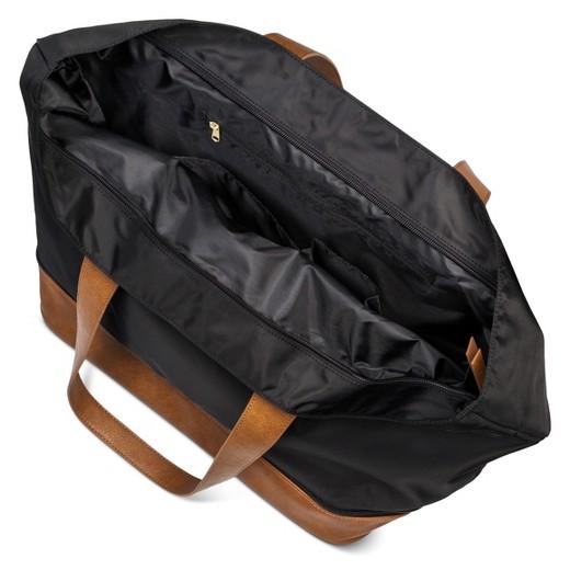 Women's Large Expandable Nylon Tote Handbag - Merona™ : Target