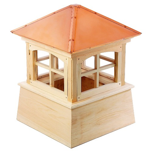 '18'' X 25'' Huntington Cupola - Copper (Brown) - Good Directions'