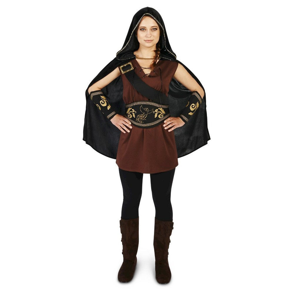 The Lady Huntress Womens Costume Medium, Multicolored