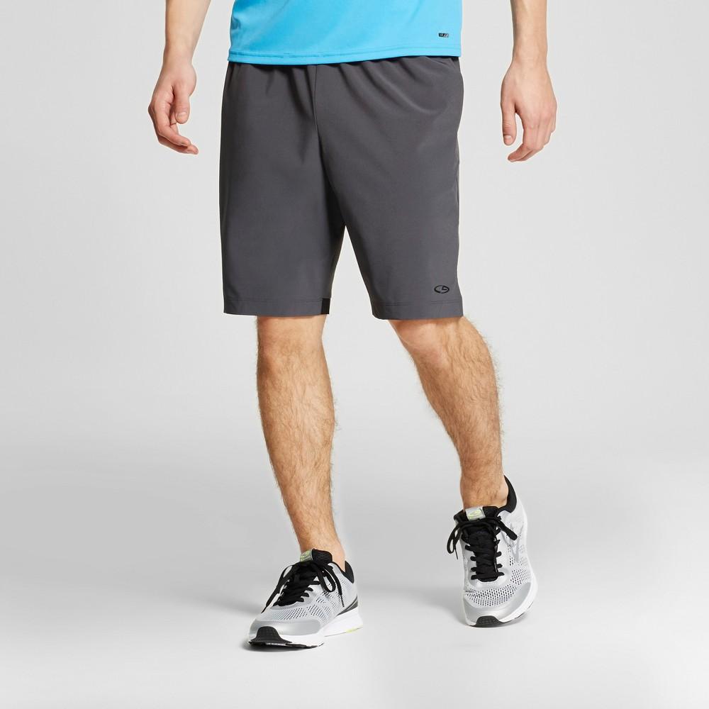 Mens Tennis Shorts - C9 Champion Railroad Gray M