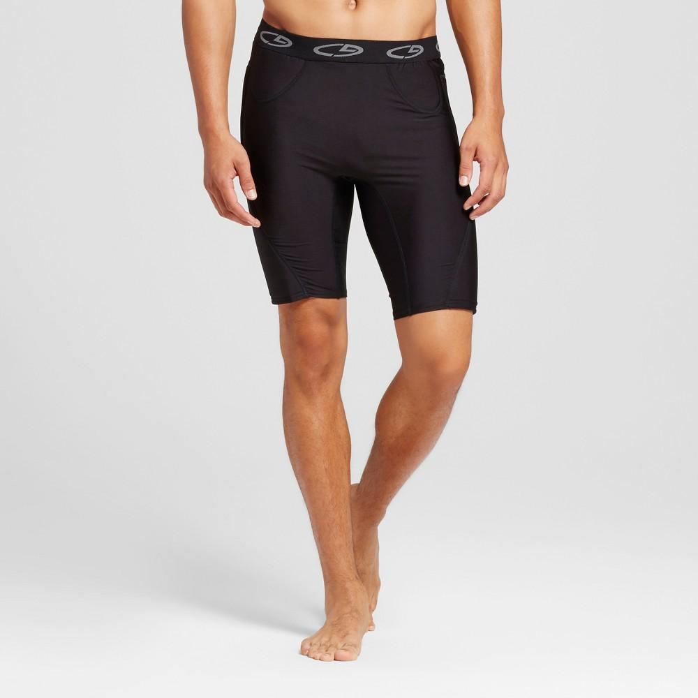 Mens Baseball Slider Shorts - C9 Champion Black Xxl