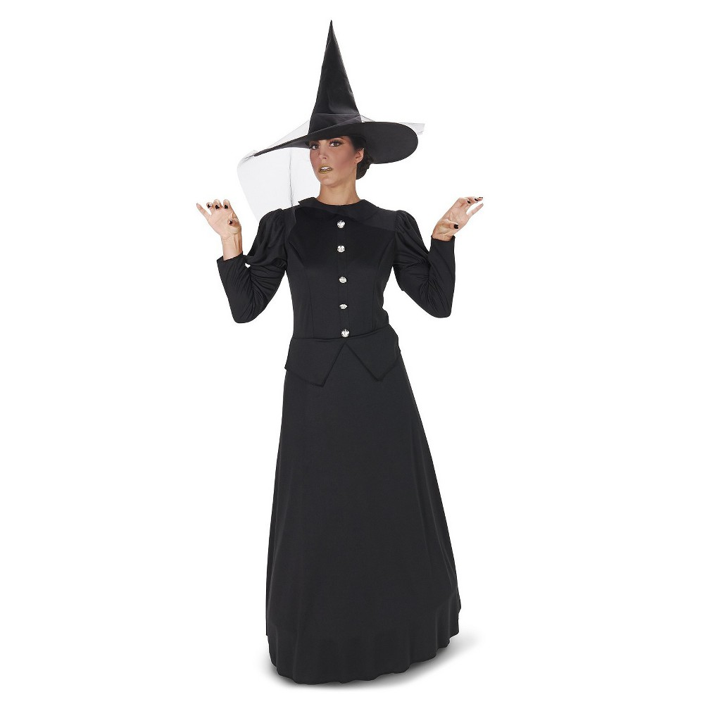 Wicked Witch Of the West Womens Costume Black - Large, Multicolored
