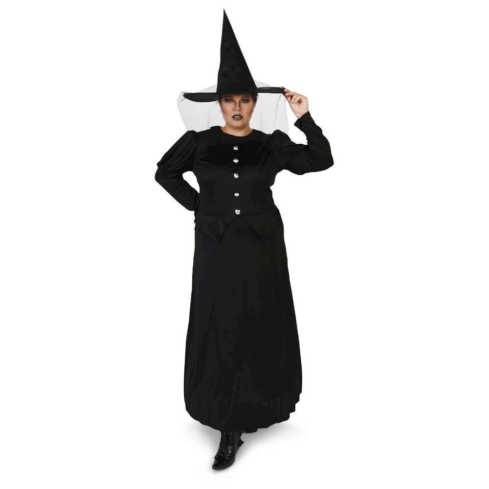 Plus Size Wicked Witch of the West Women's Plus Costume 1X,  Black plus size,  plus size fashion plus size appare