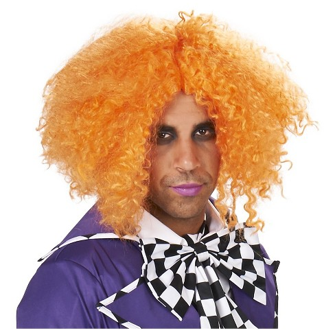 Mad Hatter's Men's Costume Wig Orange - One Size Fits Most - image 1 of 2