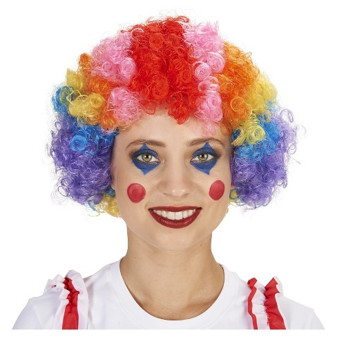 Clown Women's Costume Wig - One Size Fits Most - image 1 of 3