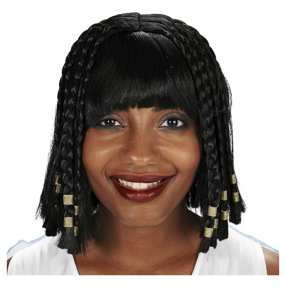 Cleopatra Coming At Yak Womens Costume Wig Black
