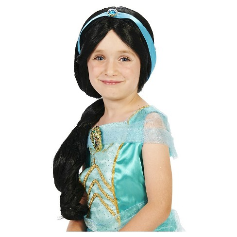 Arabia Princess Child's Costume Wig Black - One Size Fits Most - image 1 of 5