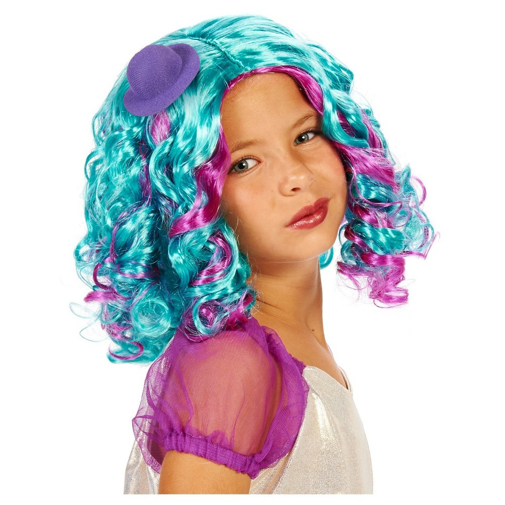 Pastel Childs Costume Wig, Girls, Multi-Colored