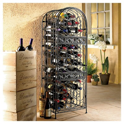 rack chrome the wine enthusiasts
