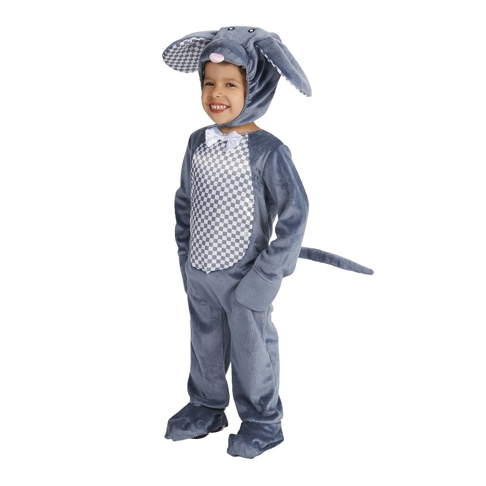 Little Mouse Toddler Costume 2-4T, Toddler Unisex, Size: 2T-4T, Gray