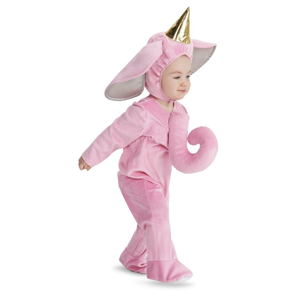 Pretty Elephant Baby Costume - 12-18 Months, Infant Girls, Size: 12-18 M, Pink