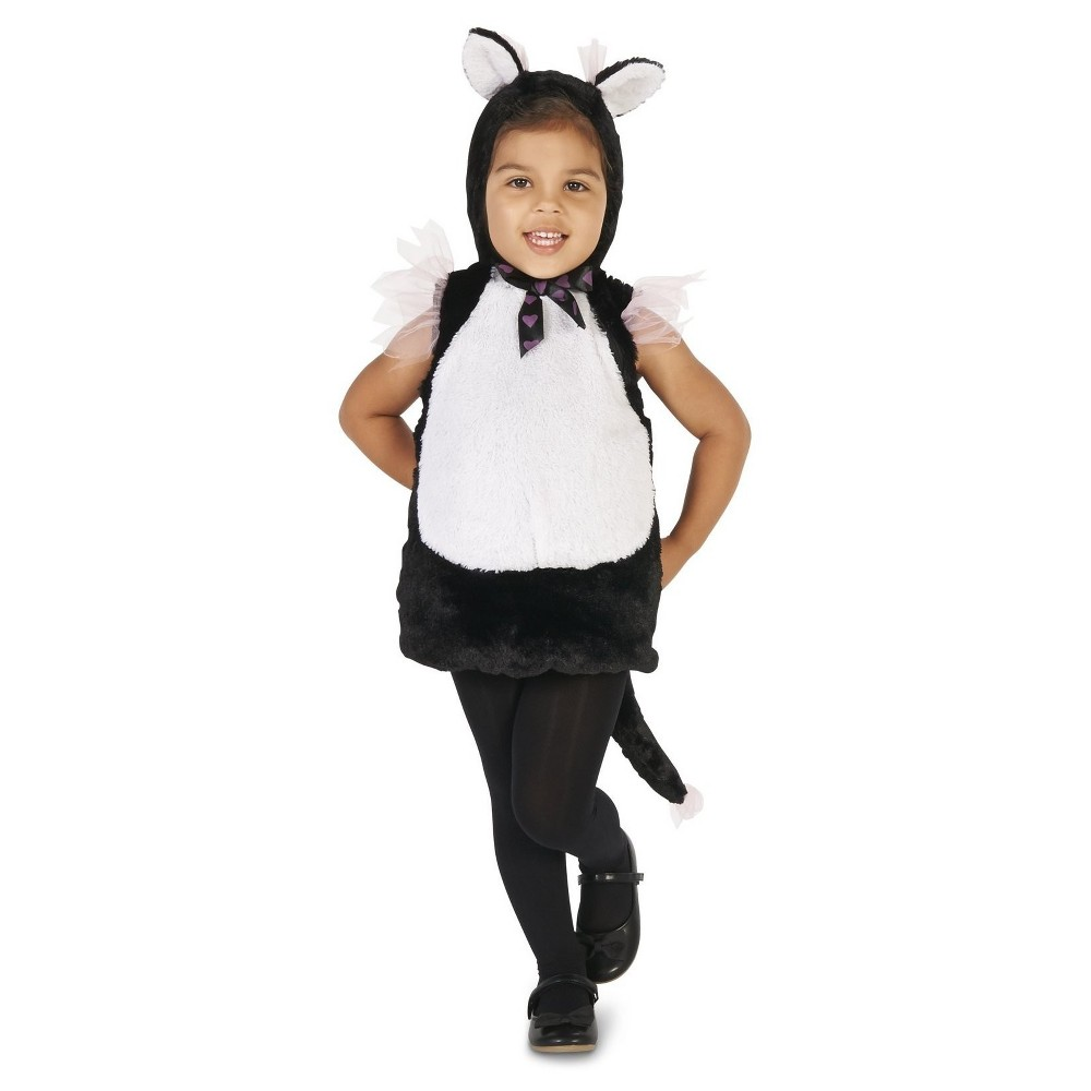 Elegant Kitty Princess Baby Costume 12-18 Months, Infant Girls, Size: 12-18 M, Black