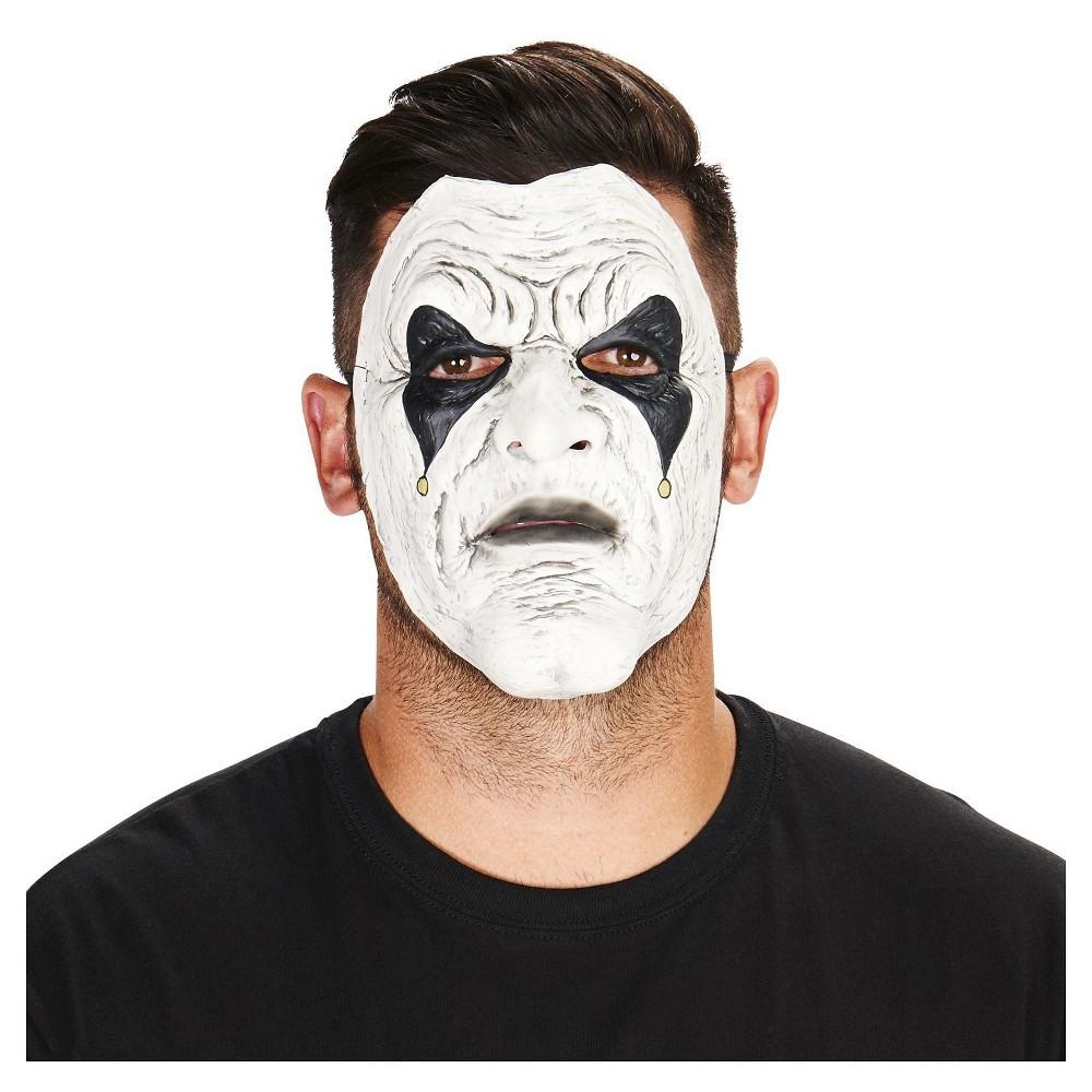 Hester the Jester Adult Mask, Mens, White