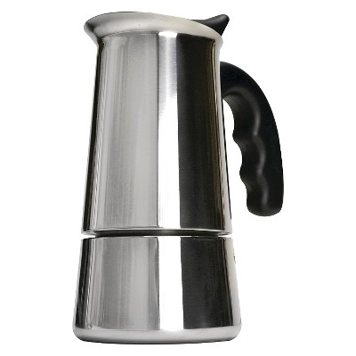 Coffee Maker On Gas Stove : Primula 6 Cup Stove Espresso Maker - Stainless Steel : Target