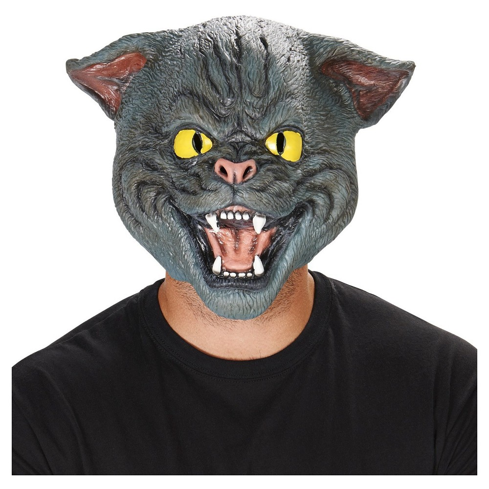 House Cat Adult Mask - One Size Fits Most, Adult Unisex, Black
