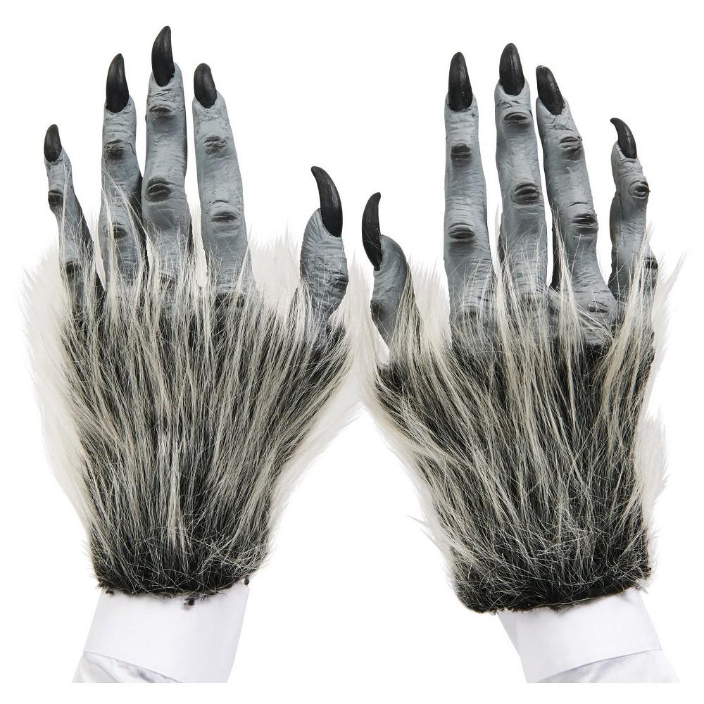 Beast Adult Hands, Mens, Gray