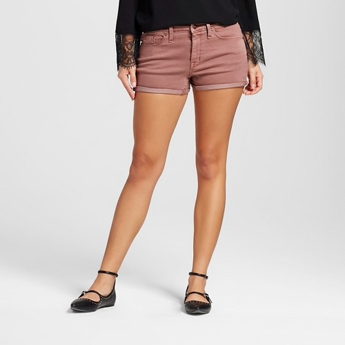 Women's High-rise Short Pink 8 - Mossimo