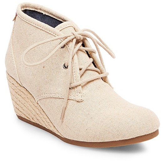 Women's Mad Love® Myrtle Booties - Beige 9 : Target