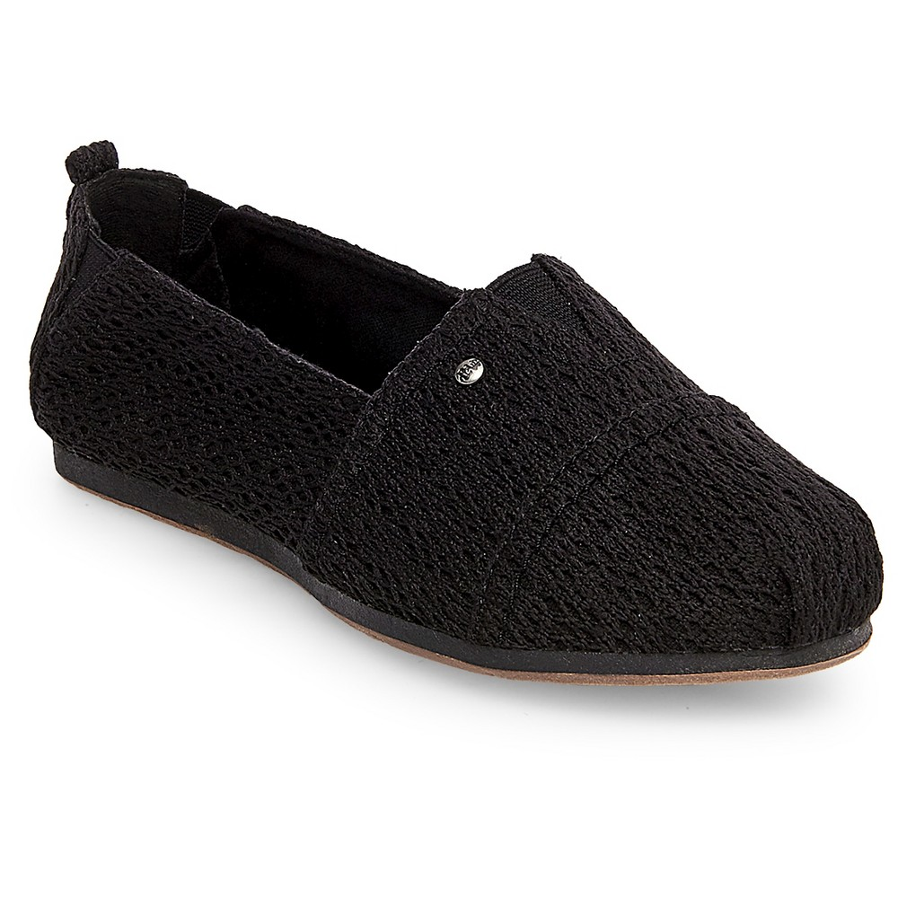Womens Mad Love Lydia Slip On Shoes - Black 6