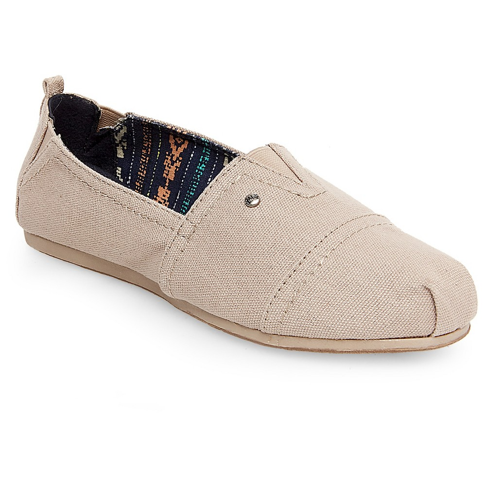Womens Mad Love Lydia Slip On Shoes - Tan 11