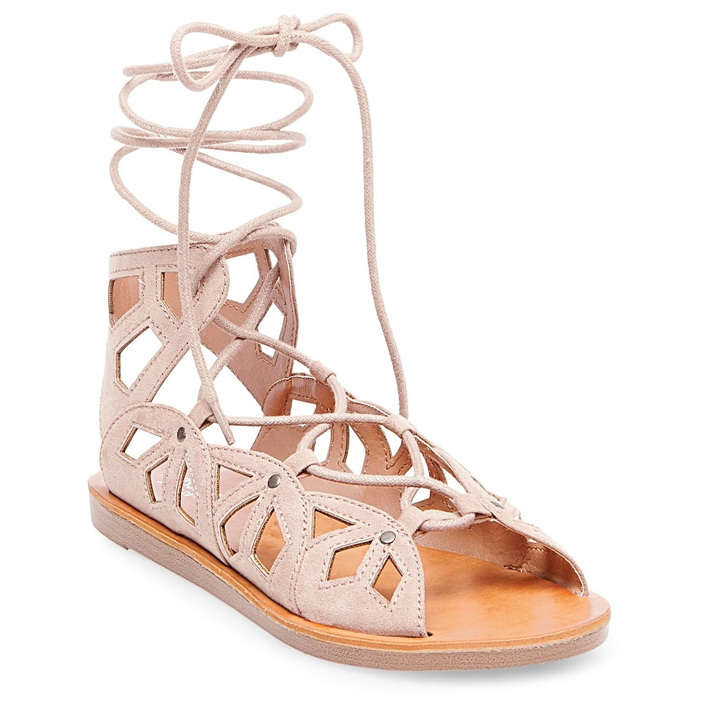Womens Nadine Gladiator Sandals - Mossimo Supply Co. Blush 9.5