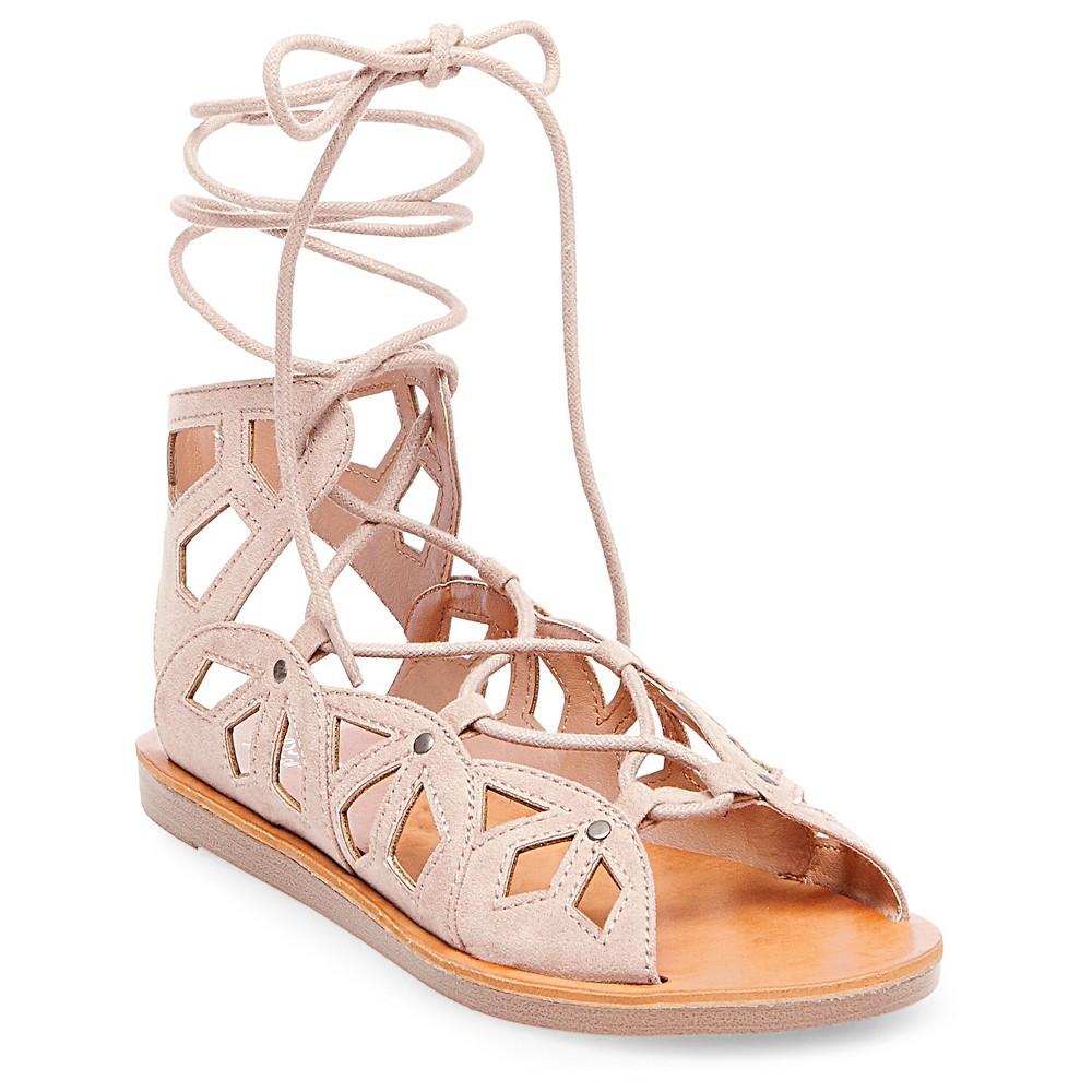 Womens Nadine Gladiator Sandals - Mossimo Supply Co. Blush 6.5