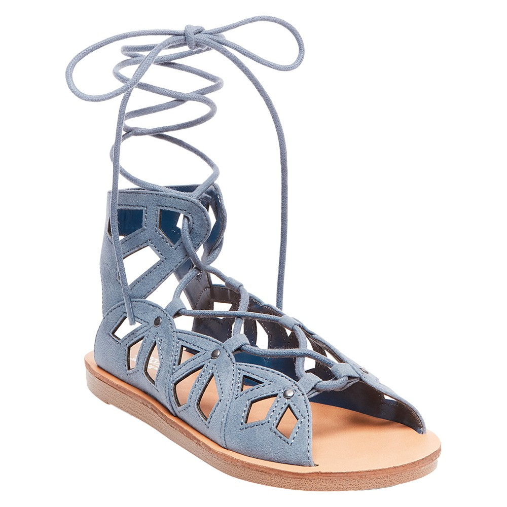 Womens Nadine Gladiator Sandals - Mossimo Supply Co. Blue 8