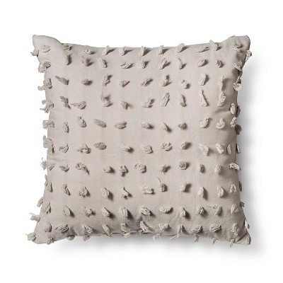 Beige Cut Knot Throw Pillow - Xhilaration™