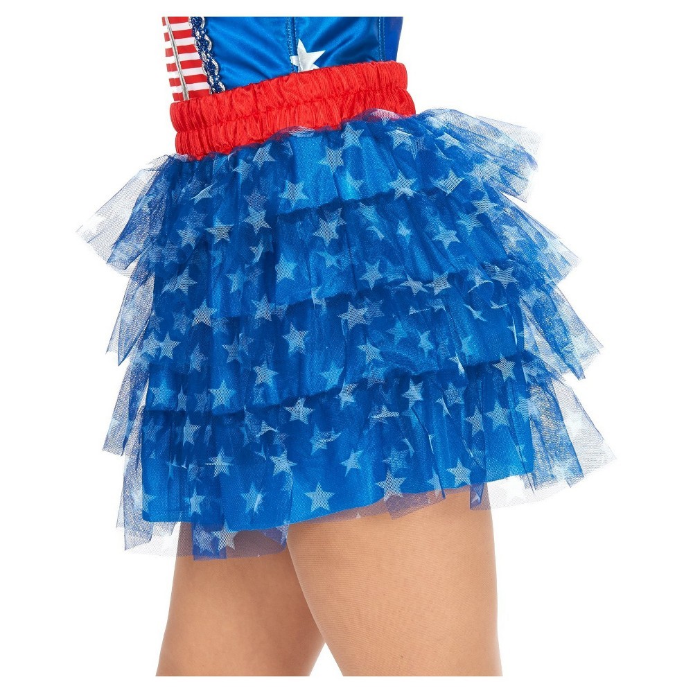 Stars Womens Tutu Costume, Multicolored