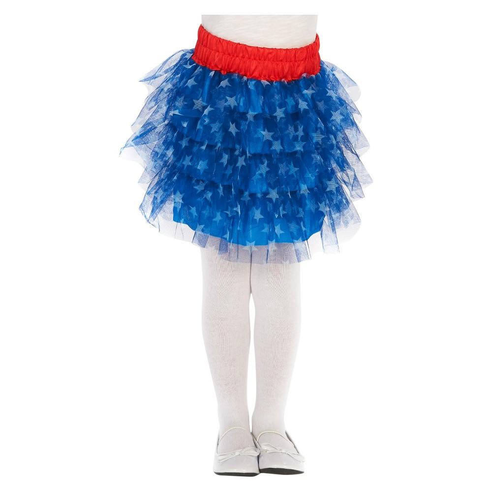 Stars Childs Tutu Costume, Girls, Multi-Colored
