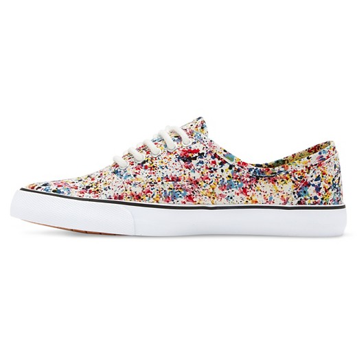 s layla patterned canvas sneakers mossimo supply co
