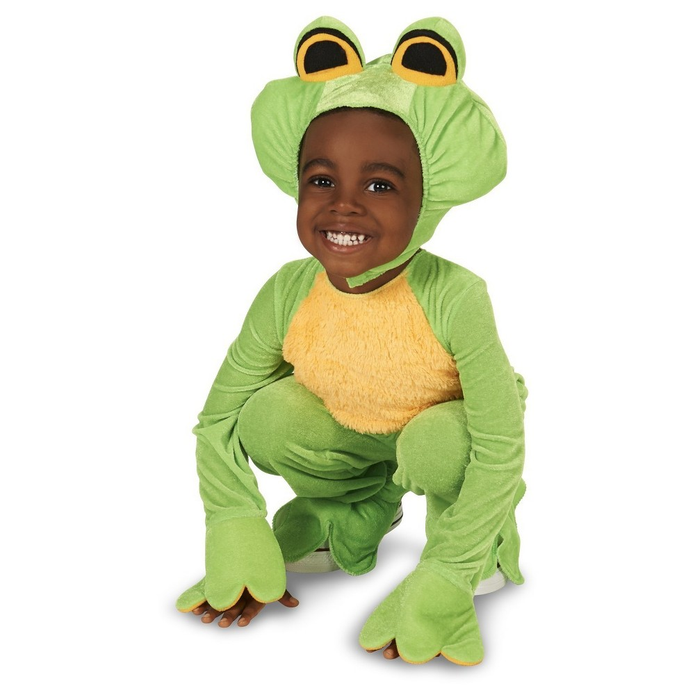 Frog Prince Baby Costume - 12-18 Months, Infant Unisex, Green